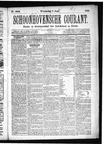 Schoonhovensche Courant 1910-06-08