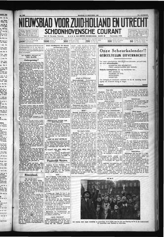 Schoonhovensche Courant 1930-11-10