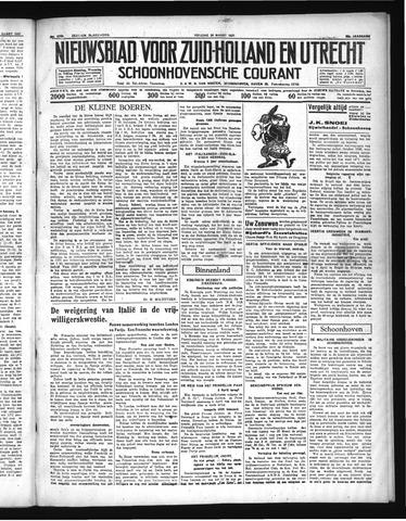 Schoonhovensche Courant 1937-03-26