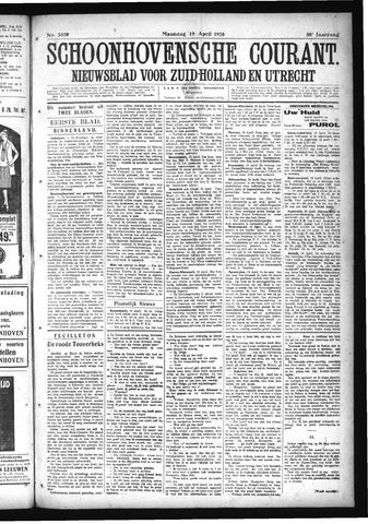 Schoonhovensche Courant 1926-04-19