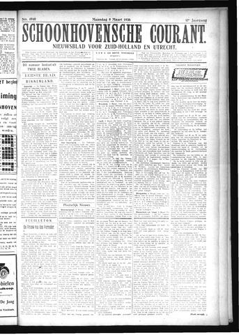 Schoonhovensche Courant 1925-03-09