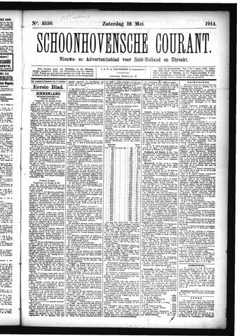 Schoonhovensche Courant 1914-05-16