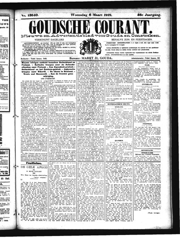 Goudsche Courant 1918-03-06