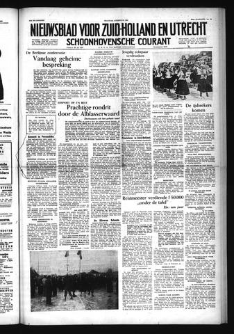 Schoonhovensche Courant 1954-02-08