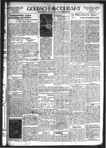 Goudsche Courant 1944-03-09