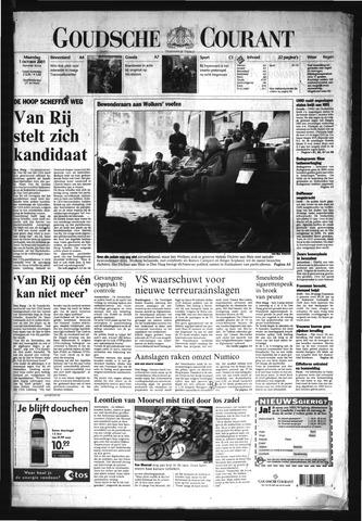 Goudsche Courant 2001-10-01