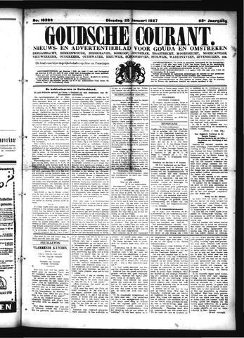 Goudsche Courant 1927-01-25