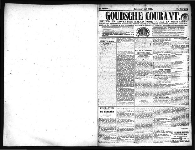 Goudsche Courant 1922-07-01