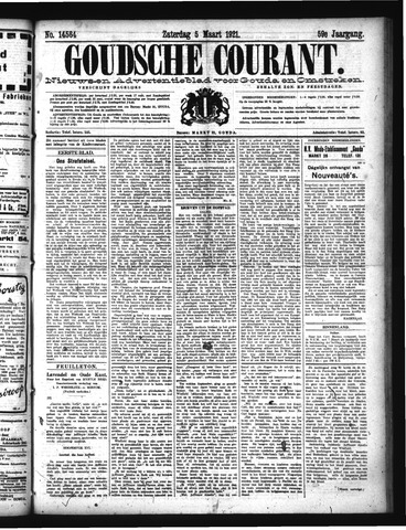 Goudsche Courant 1921-03-05