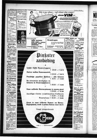 Schoonhovensche Courant 1954-05-28