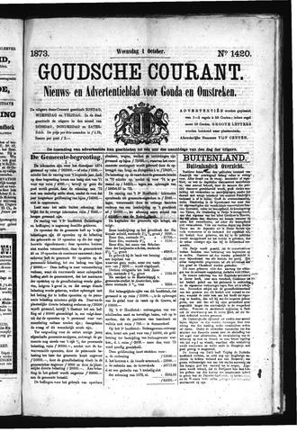 Goudsche Courant 1873-10-01