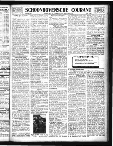 Schoonhovensche Courant 1944-04-25