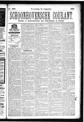 Schoonhovensche Courant 1912-08-14