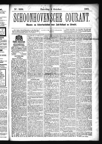 Schoonhovensche Courant 1901-10-05