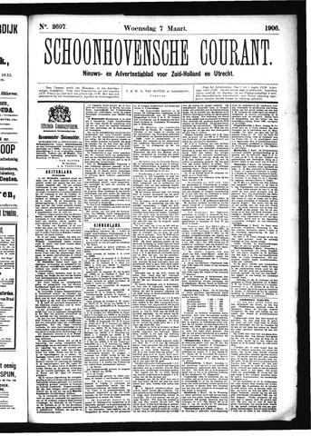 Schoonhovensche Courant 1906-03-07