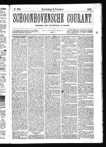 Schoonhovensche Courant 1886-10-02
