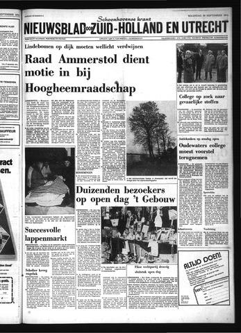 Schoonhovensche Courant 1974-09-30