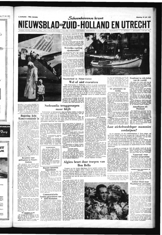 Schoonhovensche Courant 1962-07-30