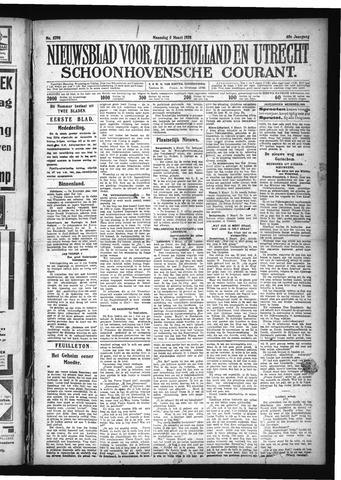 Schoonhovensche Courant 1928-03-05