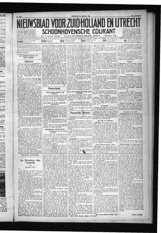 Schoonhovensche Courant 1931-01-07