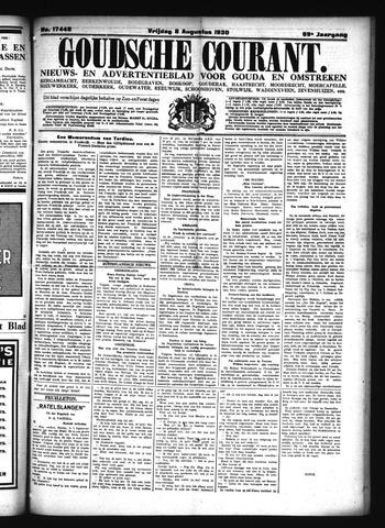 Goudsche Courant 1930-08-08
