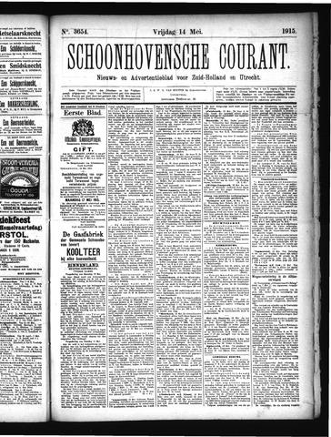 Schoonhovensche Courant 1915-05-14