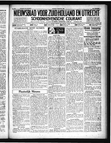 Schoonhovensche Courant 1935-08-09