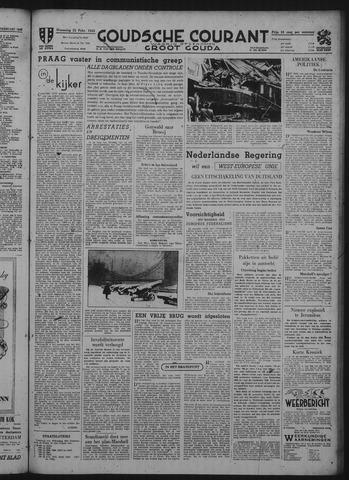 Goudsche Courant 1948-02-25