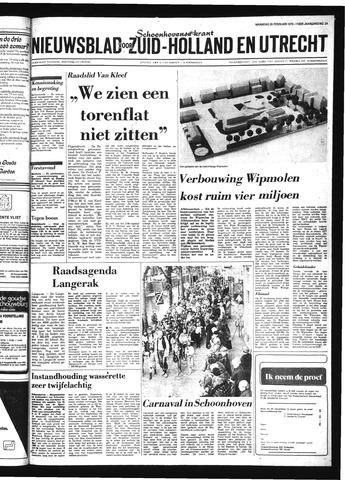 Schoonhovensche Courant 1979-02-26