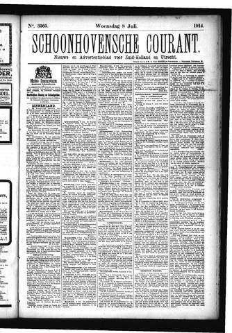 Schoonhovensche Courant 1914-07-08
