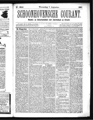 Schoonhovensche Courant 1907-08-07