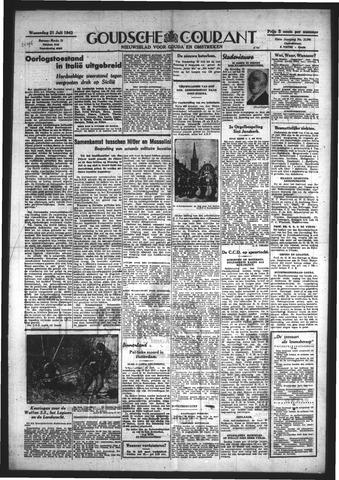 Goudsche Courant 1943-07-21