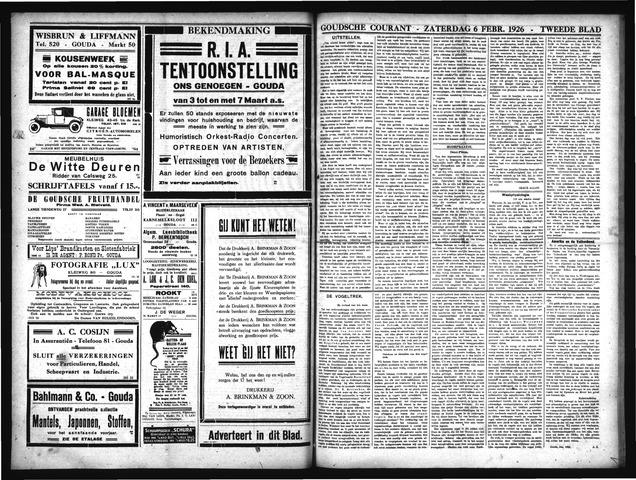 Goudsche Courant 1926-02-06