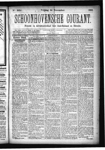 Schoonhovensche Courant 1916-11-24