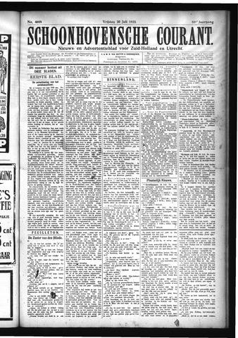Schoonhovensche Courant 1923-07-20