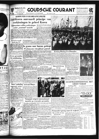 Goudsche Courant 1954-05-24