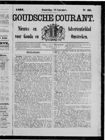 Goudsche Courant 1862-09-18