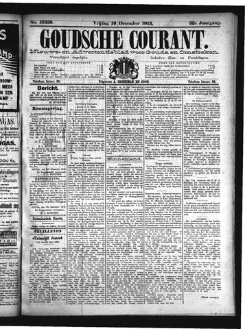 Goudsche Courant 1913-12-19