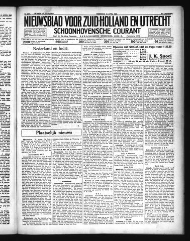 Schoonhovensche Courant 1935-04-10