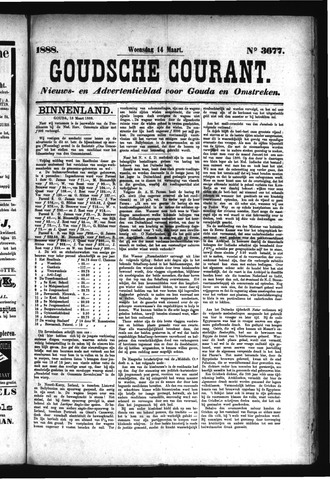 Goudsche Courant 1888-03-14