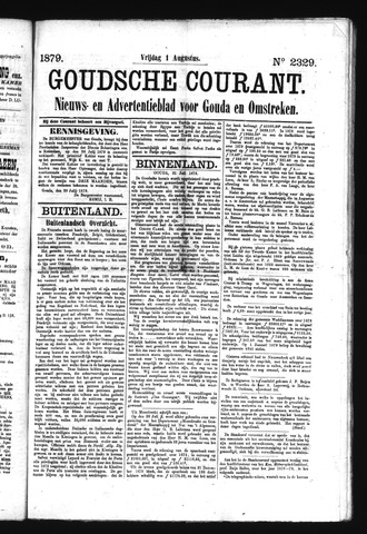 Goudsche Courant 1879-08-01