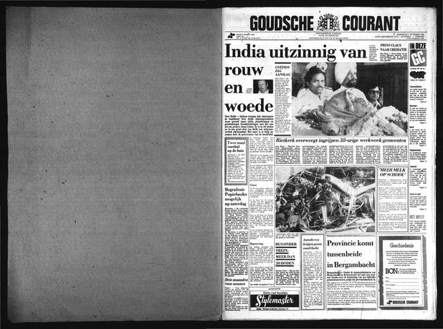 Goudsche Courant 1984-11-01