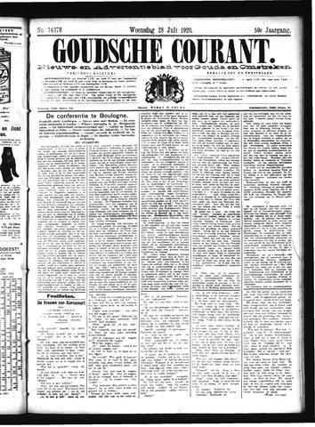 Goudsche Courant 1920-07-28