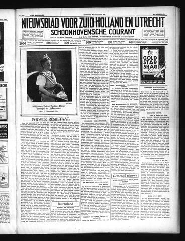 Schoonhovensche Courant 1937-08-30