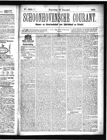 Schoonhovensche Courant 1901-01-19