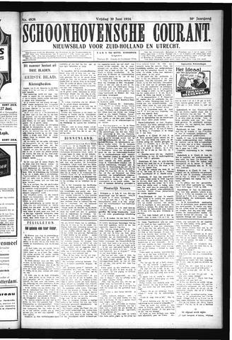 Schoonhovensche Courant 1924-06-20