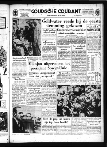 Goudsche Courant 1964-07-16
