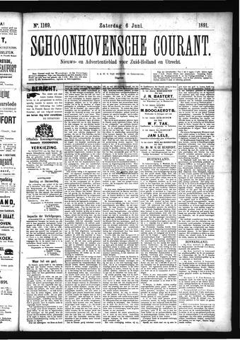 Schoonhovensche Courant 1891-06-06