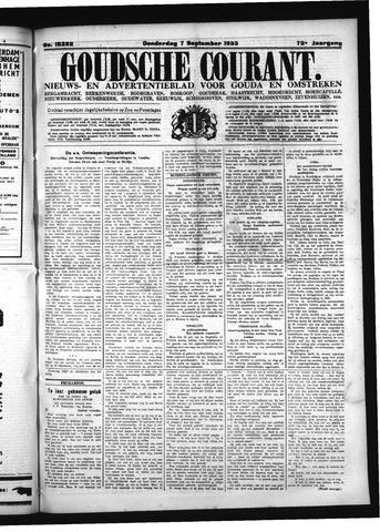 Goudsche Courant 1933-09-07