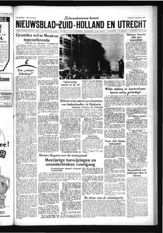 Schoonhovensche Courant 1963-09-20
